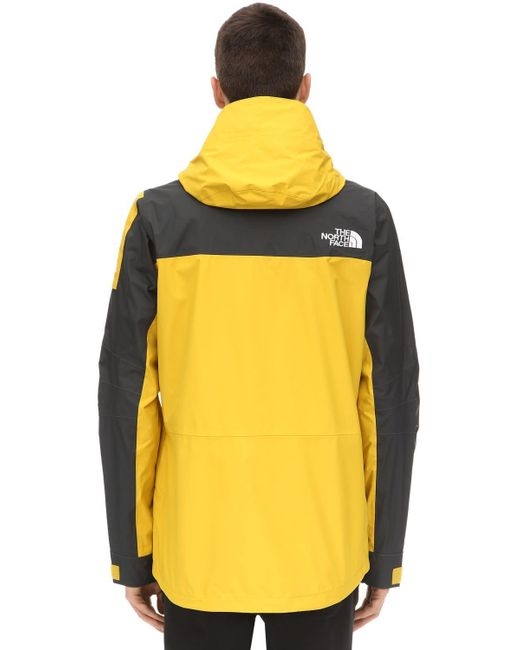 The North Face Fantasy Ridge Techno Jacket in Yellow for Men