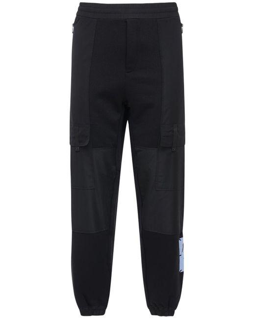 メンズ McQ Alexander McQueen Foam コットンブレンドスウェットパンツ Black
