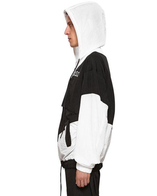 メンズ BMUET(TE) ナイロン カジュアルジャケット Black