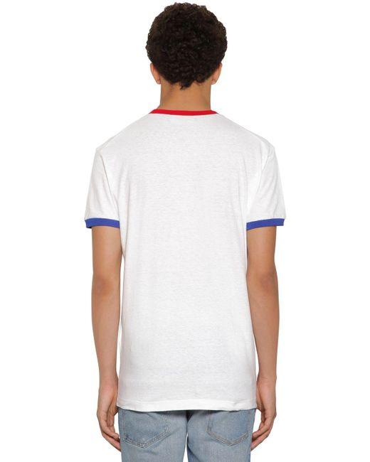 メンズ DSquared² ジャージーtシャツ White