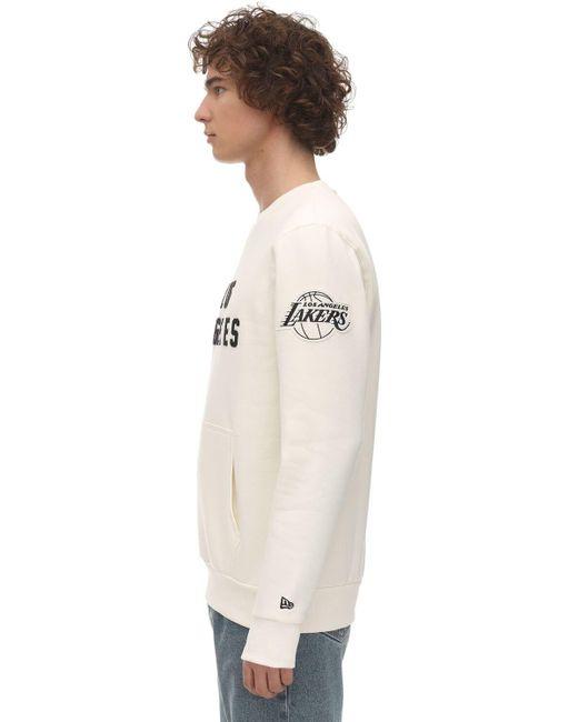 メンズ KTZ Far Eastコットンブレンドスウェットシャツ Natural