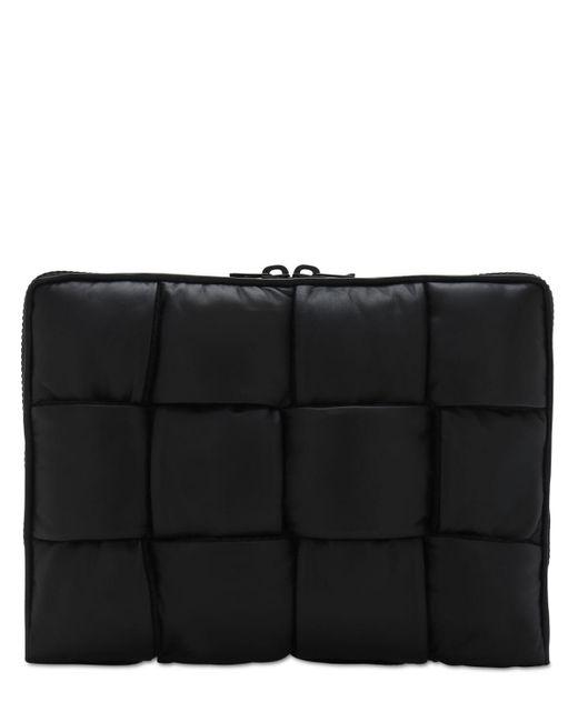 Сумка Для Документов Intrecciato Bottega Veneta для него, цвет: Black