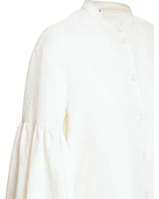 Jil Sander リネンシャツ White