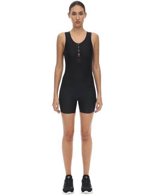 Reebok X Victoria Beckham テクノジャージー ジャンプスーツ Black