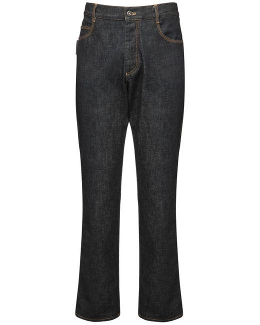 "Bottega Veneta Jeans Aus Baumwolldenim ""brut"" in Blue für Herren"
