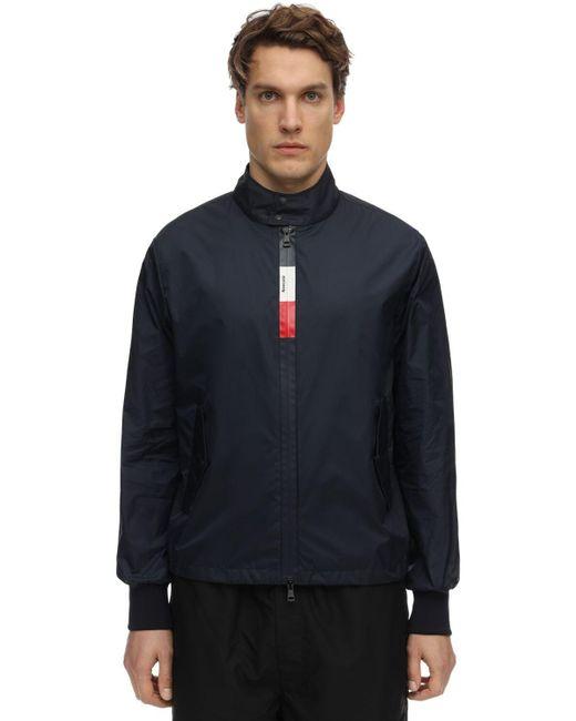 メンズ Moncler Wimereux ナイロンテクニックジャケット Blue