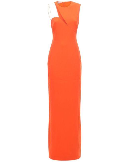 Stella McCartney カディドレス Orange