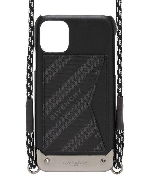 Чехол Для Iphone 11 Givenchy для него, цвет: Black