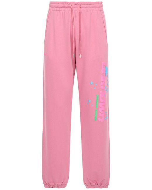 Unknown Trainingshose Aus Baumwolle in Pink für Herren