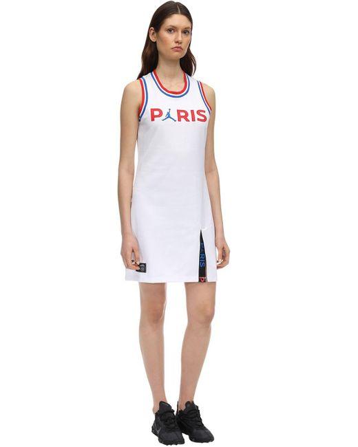 Nike Jordan Psg ストレッチニットドレス White