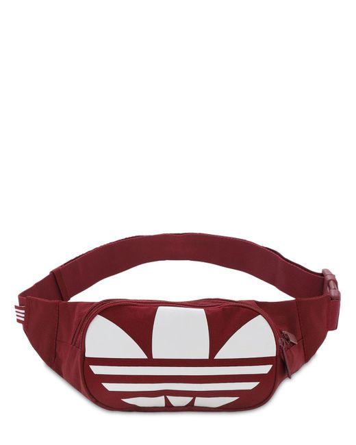 Adidas Originals Adicolor ベルトバッグ Red