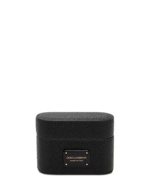Чехол Для Airpod Pro С Логотипом Dolce & Gabbana для него, цвет: Black