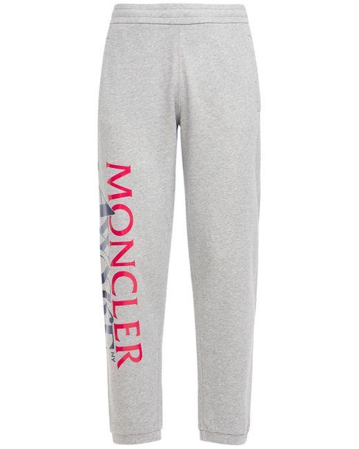 メンズ Moncler Genius Awake Nyc コットンスウェットパンツ Gray