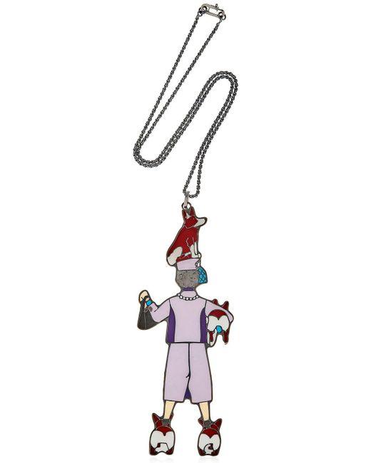 CORDIEN - Metallic La Regina Necklace - Lyst