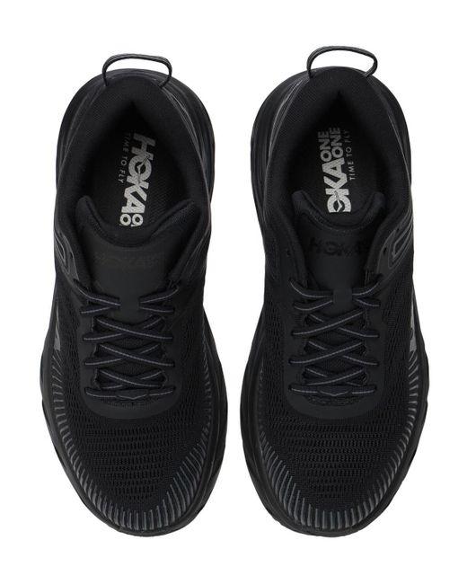 メンズ Hoka One One Bondi 7 Running スニーカー Black