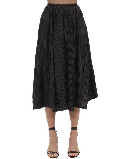 Ferragamo レザースカート Black