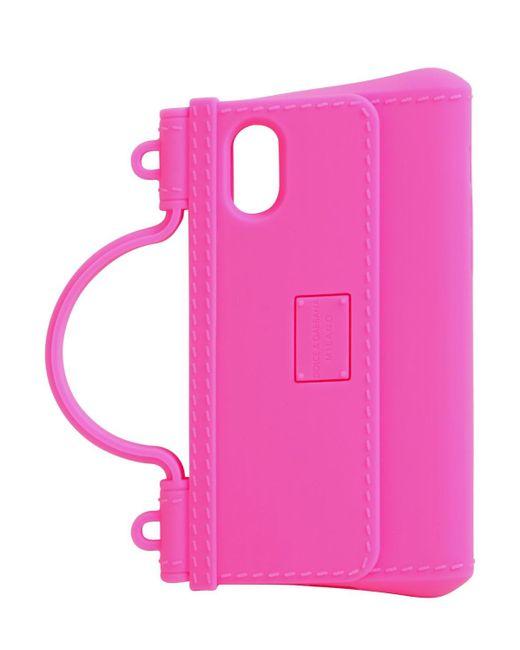 Dolce & Gabbana Iphone X/xsラバーケース Pink