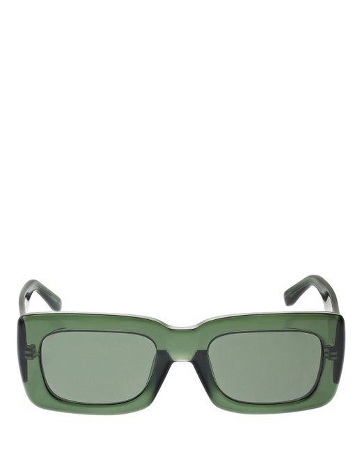 The Attico Marfa アセテートサングラス Green