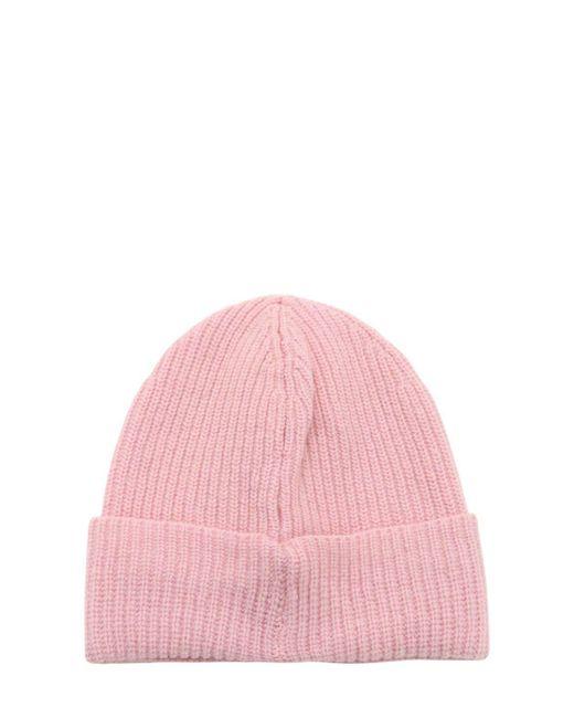 """Шерстяная Шапка """"lvr"""" C Логотипом LUISAVIAROMA, цвет: Pink"""