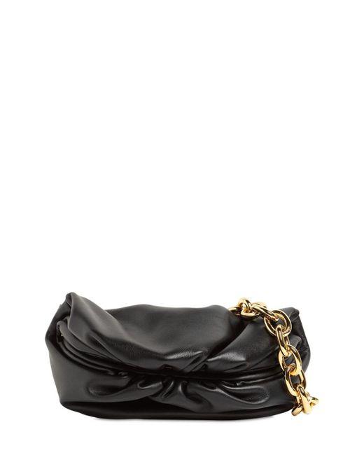 Сумка Из Гладкой Кожи Bottega Veneta, цвет: Black
