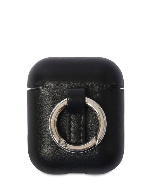 Чехол Для Наушников Airpod Saint Laurent для него, цвет: Black