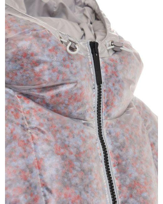 McQ Alexander McQueen Foam クリアクロップパファージャケット Multicolor