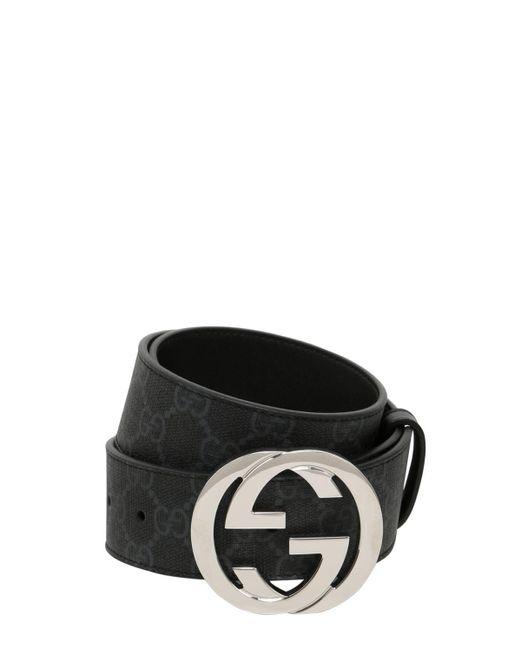 Gucci 20mm Gg Marmont レザーベルト 20mm Black