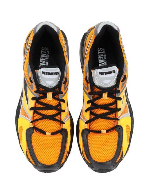 メンズ Vetements Spike Runner 2 スニーカー Orange