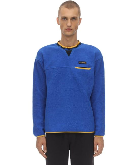 Columbia Blue Wapitoo Limited Edition Sweatshirt for men