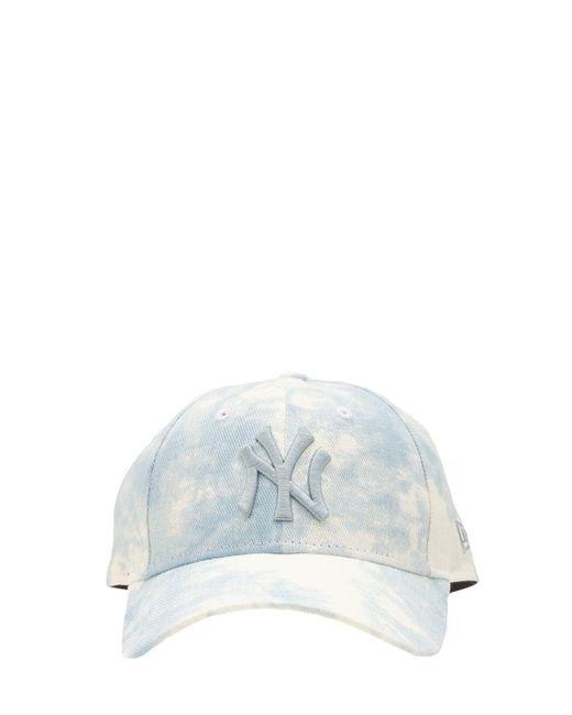 メンズ KTZ Color 9forty デニムキャップ Blue