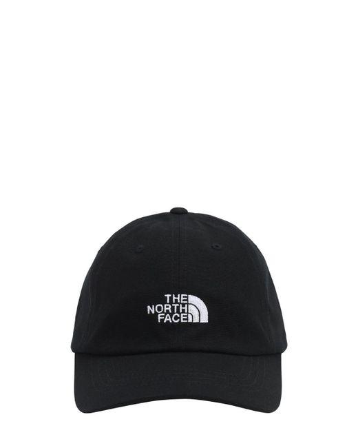 メンズ The North Face コットンキャンバスキャップ Black
