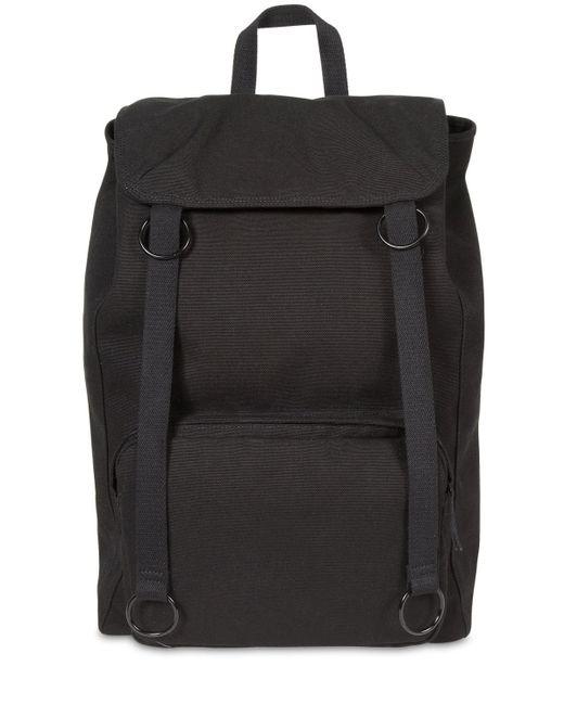 Raf Simons Black Rs Topload Loop Backpack
