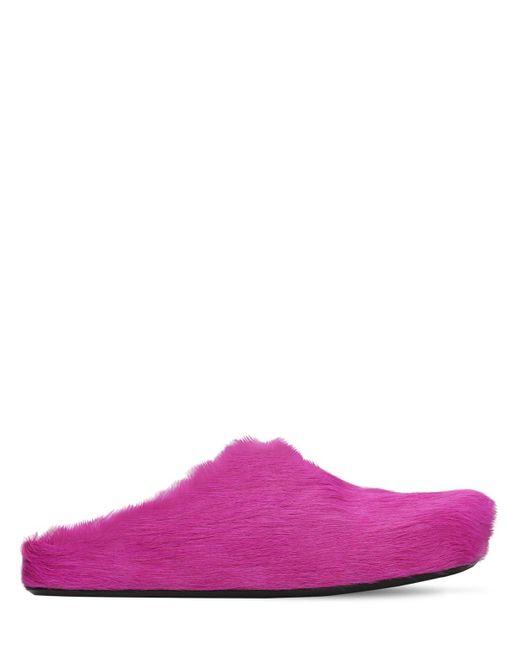 Кожаные Лоферы Marni для него, цвет: Multicolor