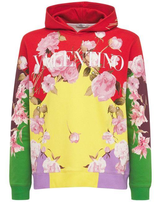 メンズ Valentino スウェットフーディー Multicolor