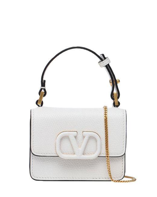Кошелек С Цепочкой V Sling Valentino Garavani, цвет: White