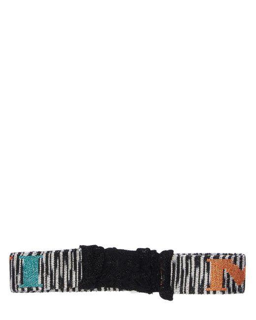 Повязка На Голову Из Жаккарда Missoni, цвет: Multicolor