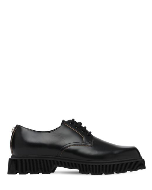 Ботинки На Шнурках Gucci для него, цвет: Black