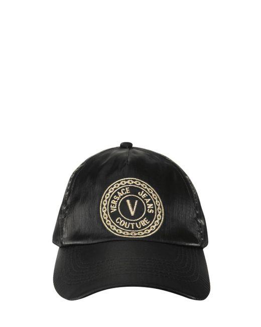 メンズ Versace Jeans ロゴキャップ Black