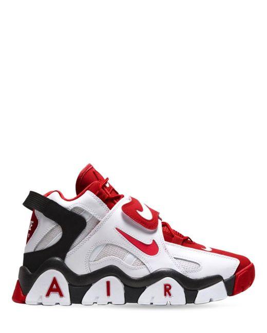 メンズ Nike Air Barrage スニーカー Red