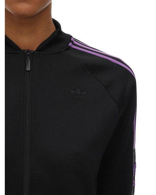 Top Deportivo De Algodón Adidas Originals de color Black