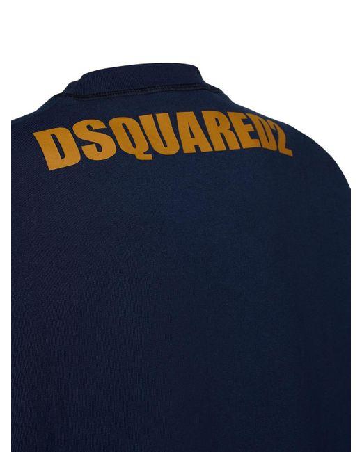 DSquared² Cool Fit Archive ジャージースウェットシャツ Blue
