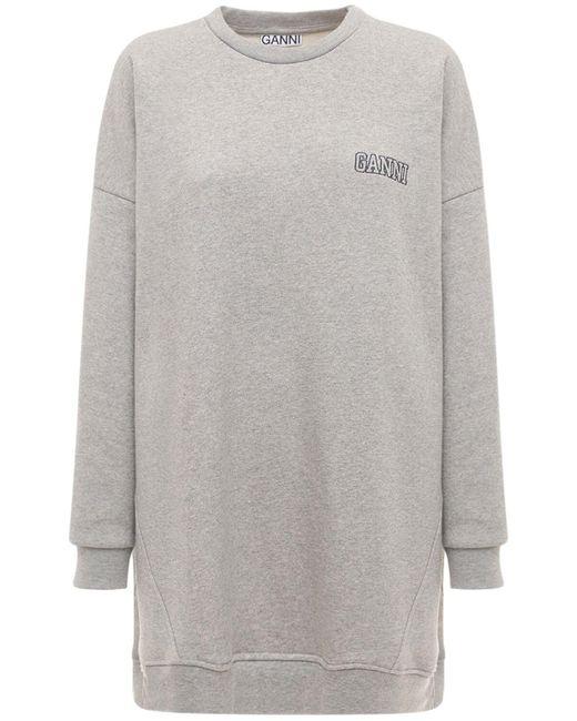 Ganni Software Isoli ジャージースウェットシャツ Gray
