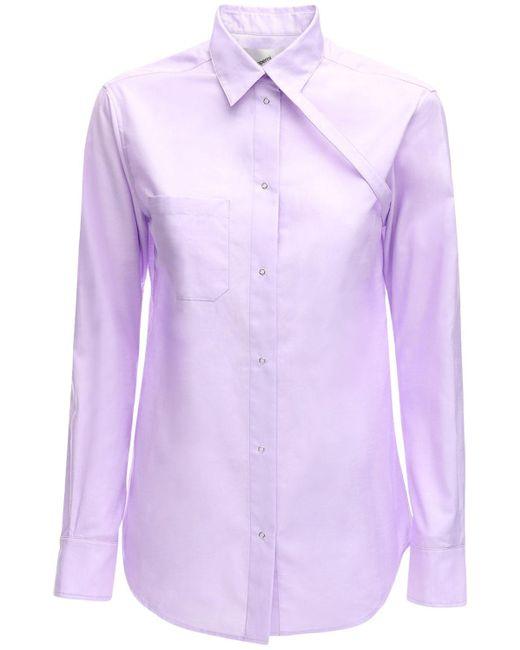 Coperni コットンポプリンシャツ Purple
