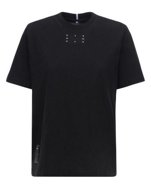 McQ Alexander McQueen コットンジャージーtシャツ Black