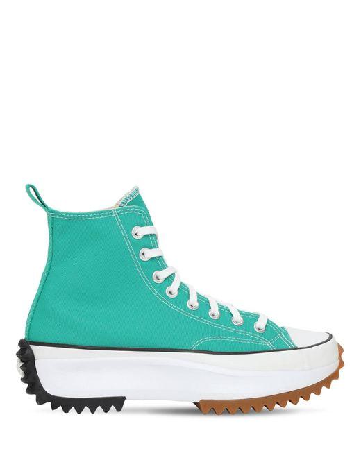 Кроссовки Run Star Hike Converse, цвет: Green
