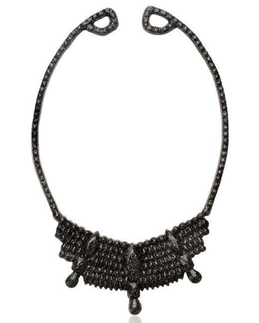 Mariah Rovery | Black Colar Rainha Necklace | Lyst