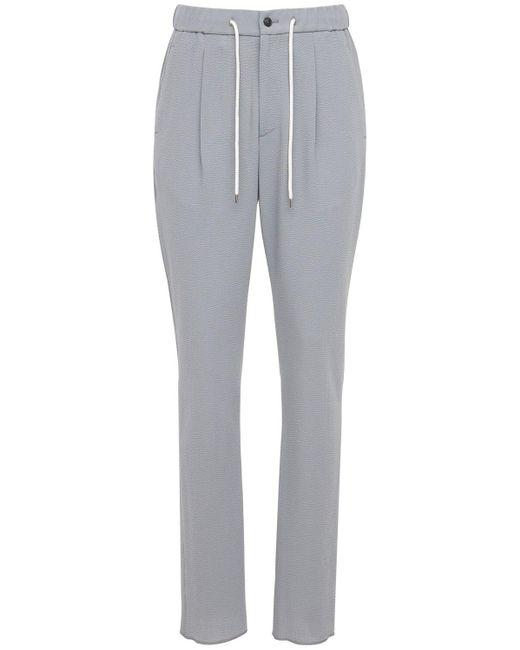 メンズ Giorgio Armani ウール&カシミアパンツ 18cm Gray