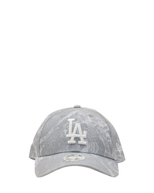 メンズ KTZ La Dodgers Marble 9forty キャップ Gray