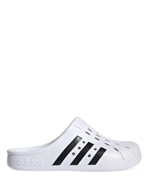 Adidas Originals Adilette クロッグサンダル White