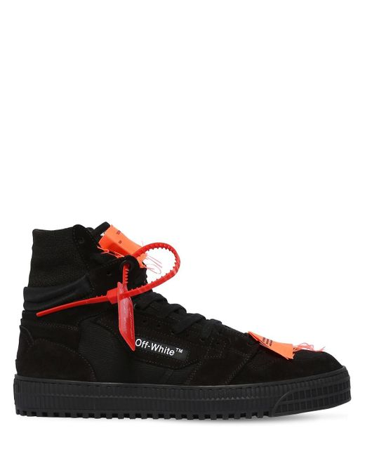 "Off-White c/o Virgil Abloh Hohe Sneakers Aus Leder ""3.0 Mix"" in Black für Herren"